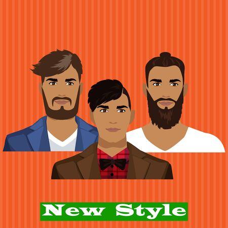 charismatic: New style illustration Illustration