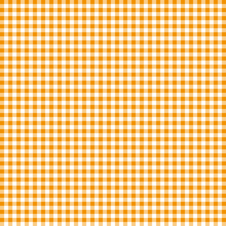 top menu: Orange tablecloths patterns on the background Illustration