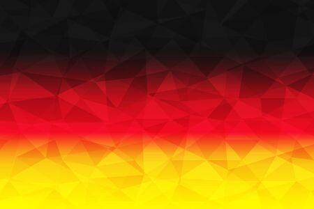 Germany Flag polygonal
