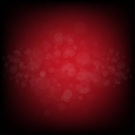 abstract dark blurred lights background. Water drops. Dust. Bubbles. Illustration
