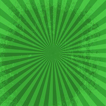 nova: Rays background green burst it stylish illustration