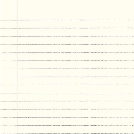 college ruled: Notebook Paper Background Illustration