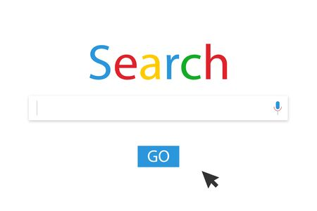 Browser Search. Search Bar for UI