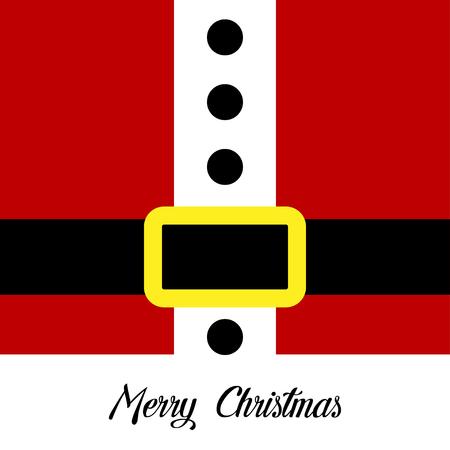 Santa claus. Christmas card, banner or poster