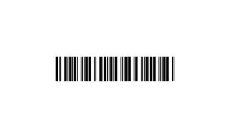 codice a barre - icona vettoriale Vettoriali