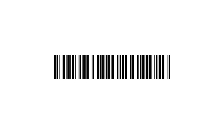 barcode - vector icon