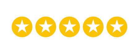 Stars rating for apps and websites