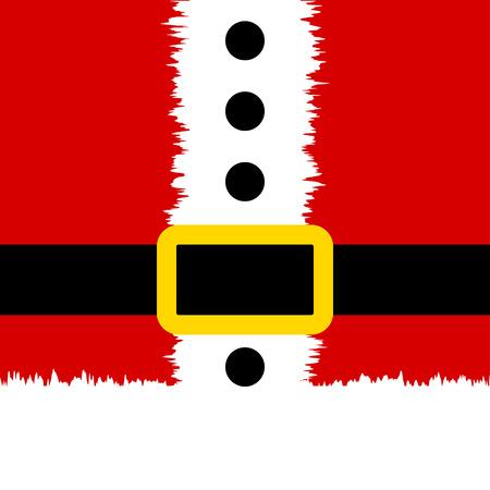 Santa Claus banner. Christmas background. Santa Christmas banner. Eps10 Vettoriali