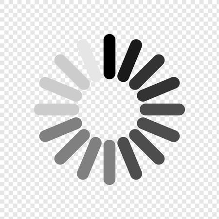 Loading icon. Load icon. Wait for a wait. Please wait. Vector Eps10 Illustration