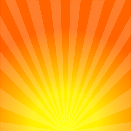 Sun rays background. Sunburst. Sunshine. Sunset. Summer sun. Sunrise. Eps10 Ilustração Vetorial