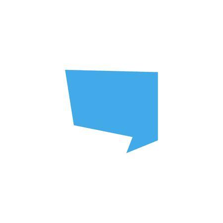 Speech Bubble. Speech bubble icon. Message icon. Speech icon. Message Bubble vector icon isolated on white background. Eps10