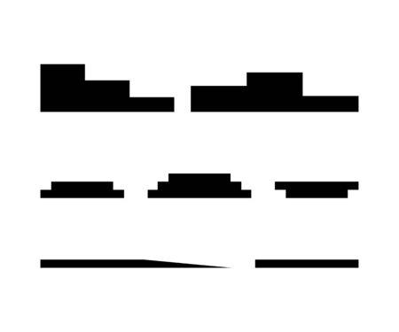 Podium collection. Pedestal vector icons for web design. Podium black icons. Podium icons isolated on white background. Eps10 Иллюстрация