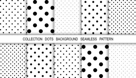 Dots abstract background. Template background dots. Mockup. Cover for book. Dot abstract. Template for cloth. Vector illustration. Vecteurs