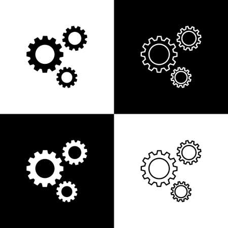 Gear. Gear vector icons. Wheel symbol. Technology. Gear icon, isolated for web design. Vector illustration