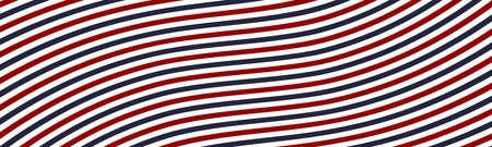 Barbershop vintage texture. Barbershop background. Rays background. Blue and Red lines. Vector illustration