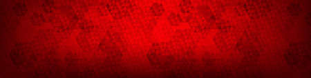 Red Background. Christmas Background. Triangle texture. Abstract Red Gradient Backdrop. Xmas Backdrop. Vector illustration