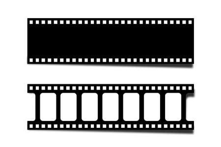 Film Strip blank vector illustration