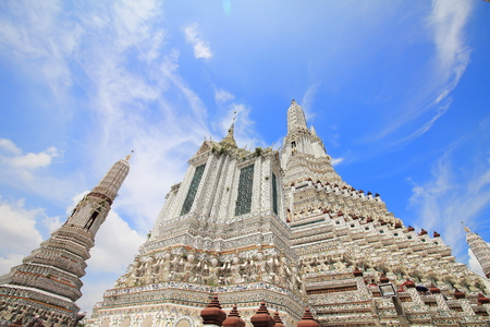 Wat arun (Temple of Dawn) 免版税图像