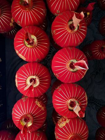 Chinese red lamps for Chinese New Year Celebrations