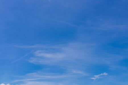 Blue sky and clouds on day to be design wallpaper or background Archivio Fotografico