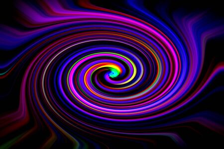 Abstract background twisted colourful line and light to be design background or wallpaper 版權商用圖片 - 150118663