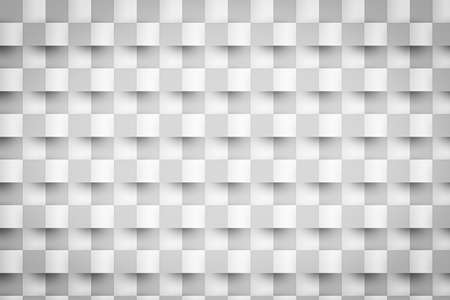 Abstract 3D rectangle background in white and bright tone