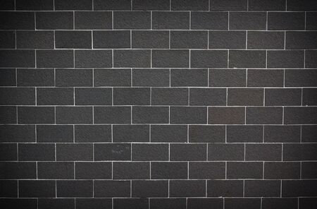Gray and white cinder block for background. photo