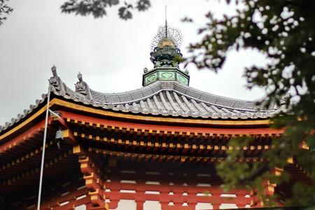 Sacred fetish on the Japanese pinnacle,Japan.  Stock Photo