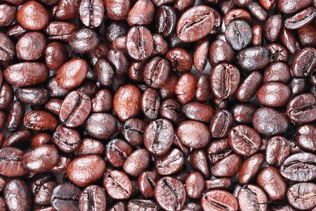 Texture of Coffee blend - medium brown background