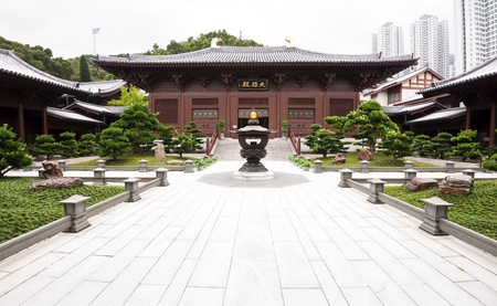 tang: Chinese temple