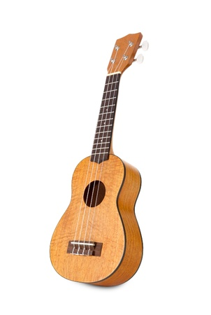 Studio isolated shot of a nice Hawaiian ukulele  photo