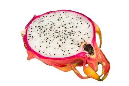Dragon fruit section Stock Photo
