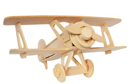Wooden plane Stock Photo