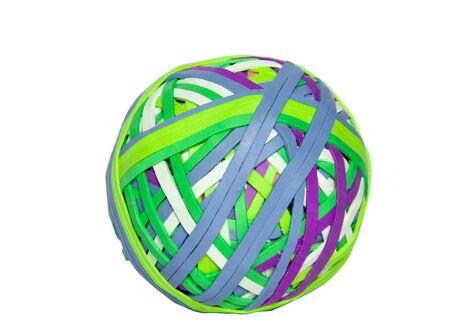 Rubber band ball photo