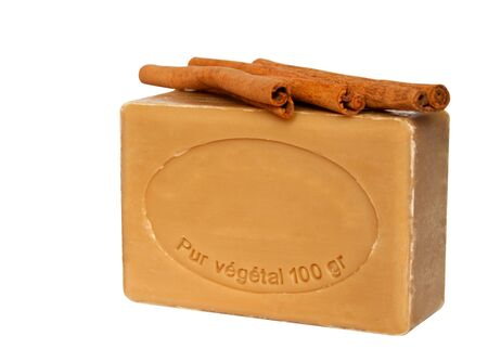 Soap with cinnamon