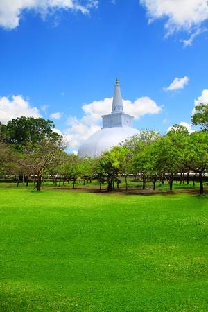 Sacred city of Anuradhapura, Sri Lanka Stock Photo - 10079025