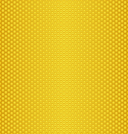 Abstract texture of honeycombs/Perforated Gold texture Stock Vector - 10272373