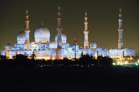 Sheich Zayed Mosque in Abu Dhabi, UAE