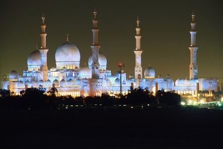 Sheich Zayed Mosque in Abu Dhabi, UAE