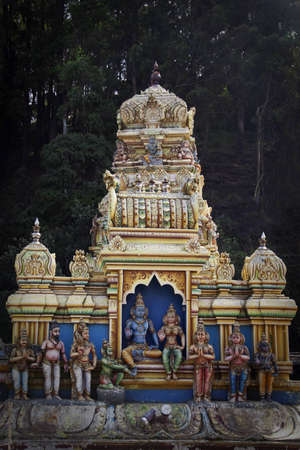 temple of heaven: A Hindu temple in Matale, Sri Lanka