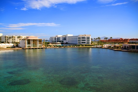 Panorama of Nabq bay in Sharm el Sheikh Stock Photo - 13096469
