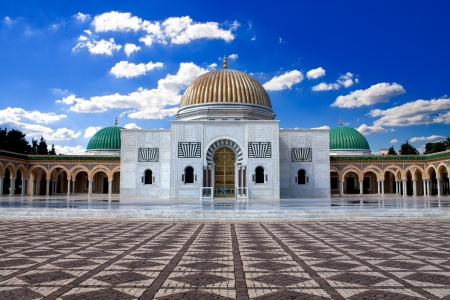 Mausoleum of Habib Bourguiba in Monastir, Tunisia