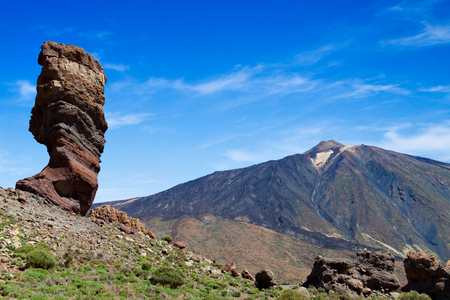 crag: El Teide, volcano at the Canary Islands, Spain