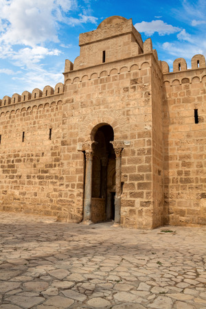 The Sousse Ribat in Tunisia is nearly 1200 years old photo