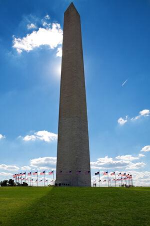 Wahington monument on a summer day