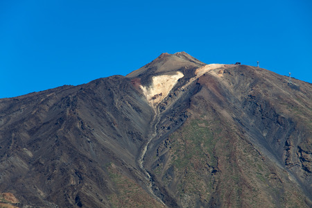Pico del Teide is a volcano on Tenerife  the Canary Islands , Spain