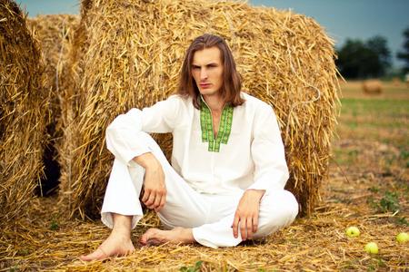 Handsome farmer Reklamní fotografie