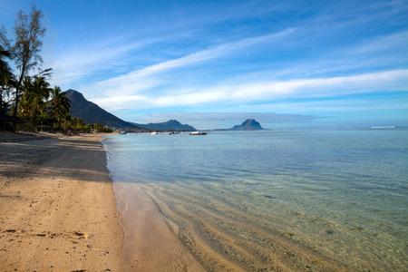 borabora: Tropical island Mauritius Stock Photo