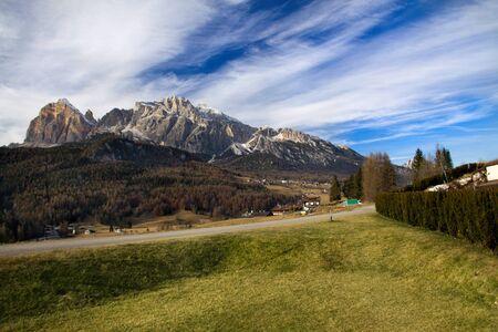 Dolomite mountains near Cortina Dampezzo, Italy