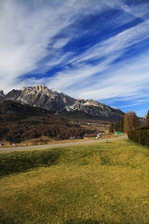 Dolomite Alps near Cortina DAmpezzo, Italy